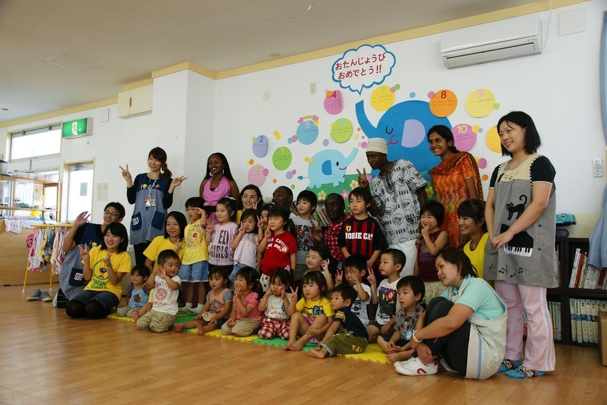 Ishinomaki Kindergarten Class Photo