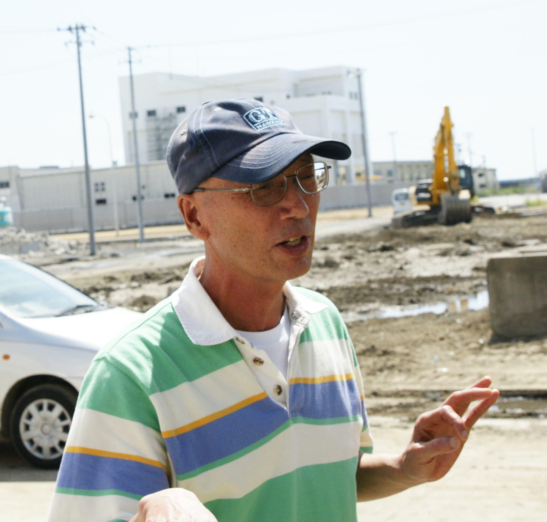 Ito-san tells his story of the tsunami