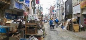 Ishinomaki streets 2011