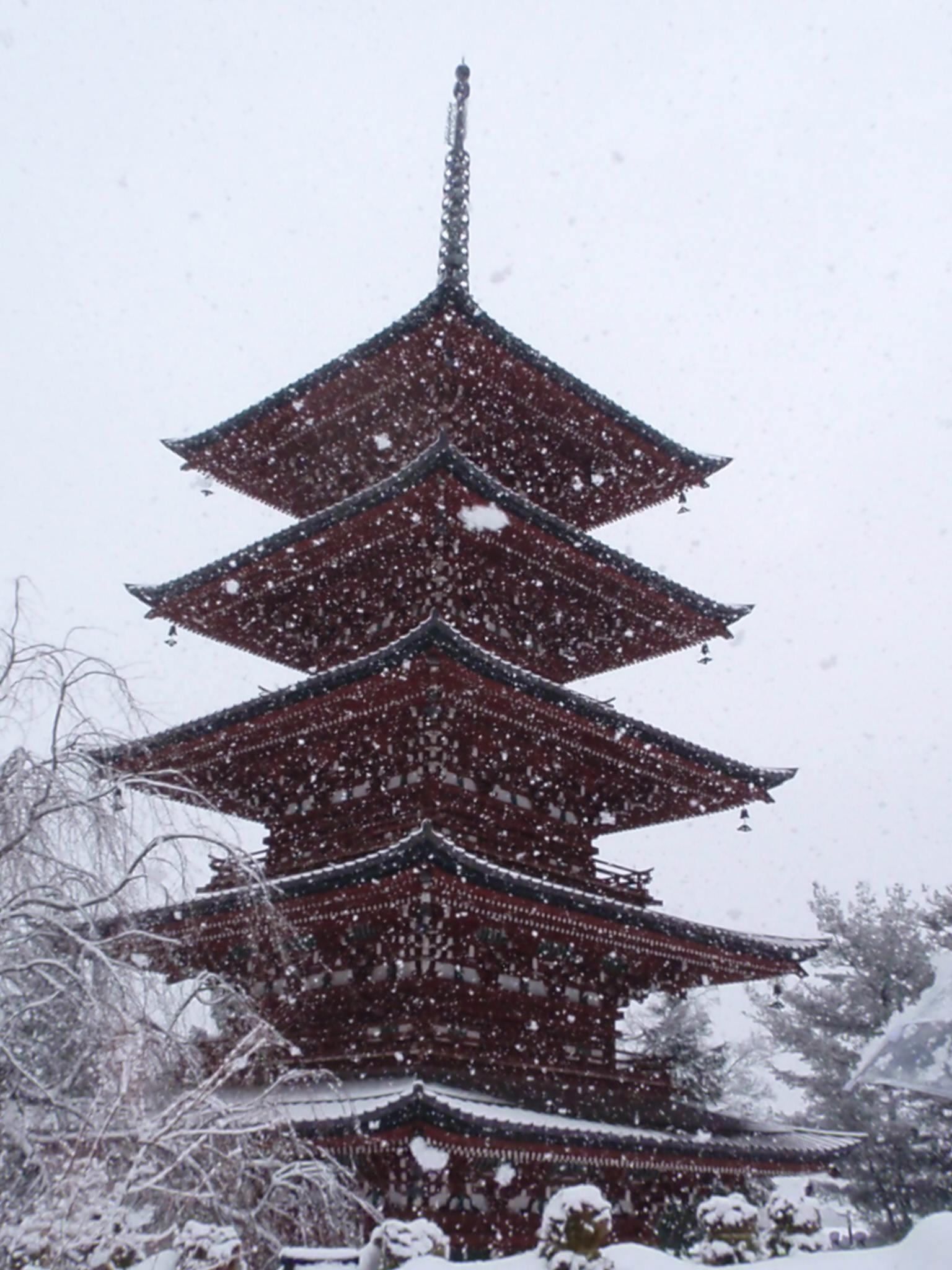 Beauty of Hirosaki in the snow