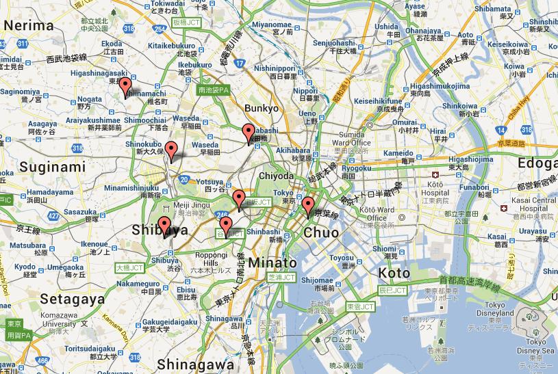 top nightlife destinations in Tokyo