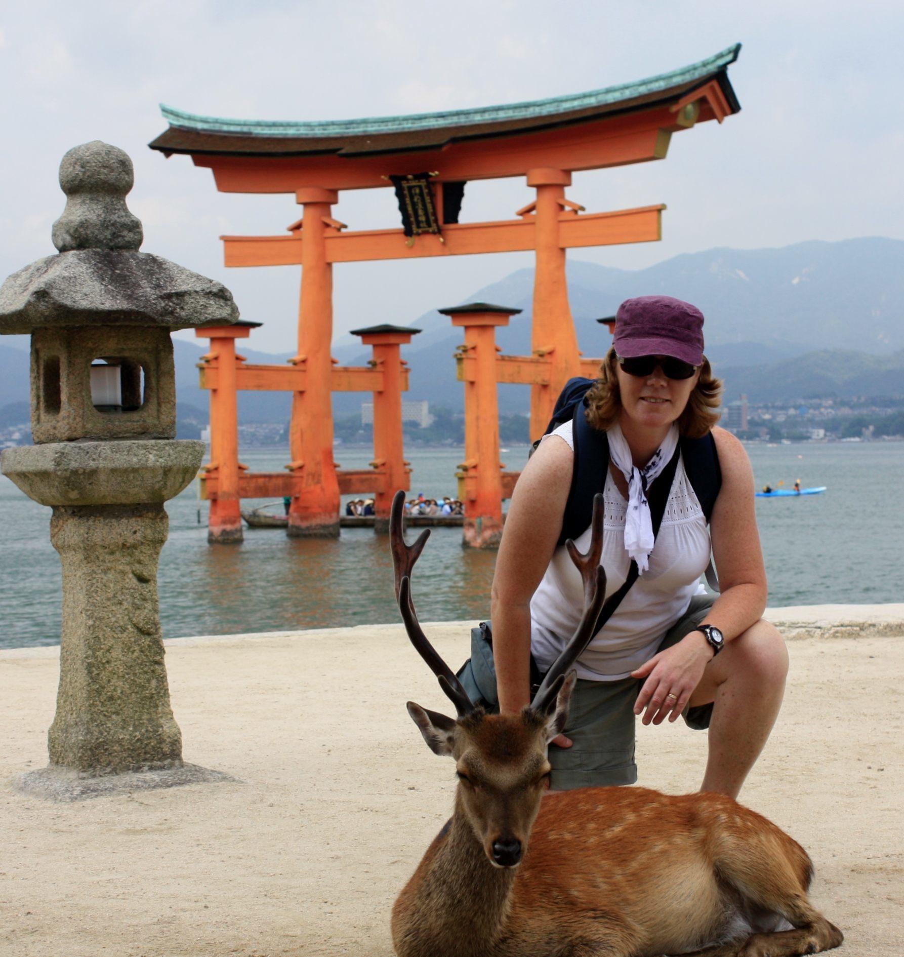 Miyajima and deer