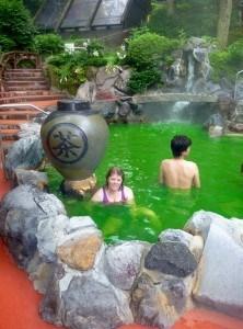 Green Tea onsen, Hakone