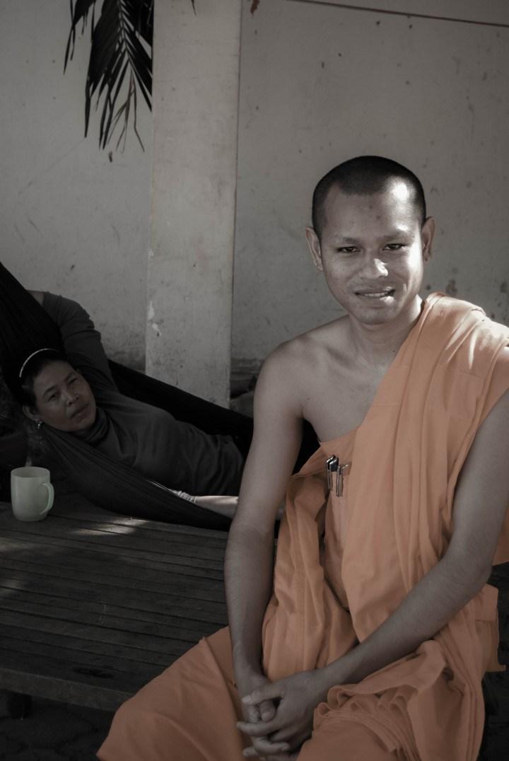 Friendly Monk