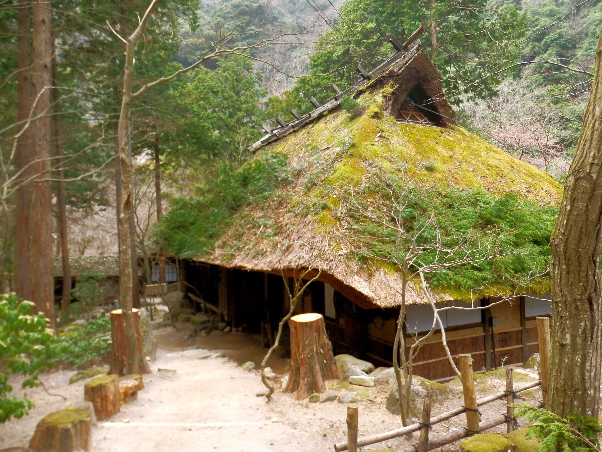 Enchanting Mitaki-en, restaurant by the river