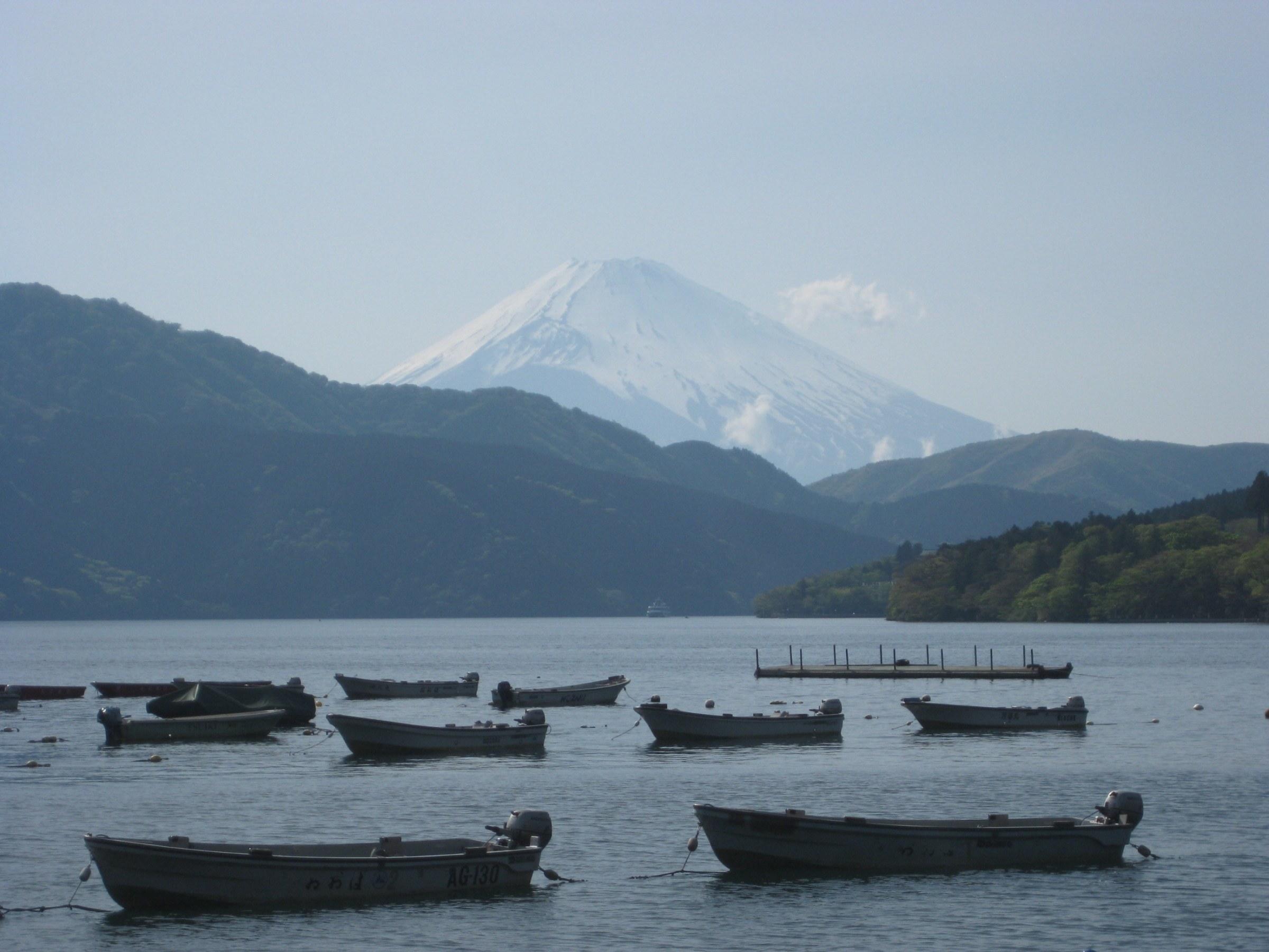 Fuji from Hakone