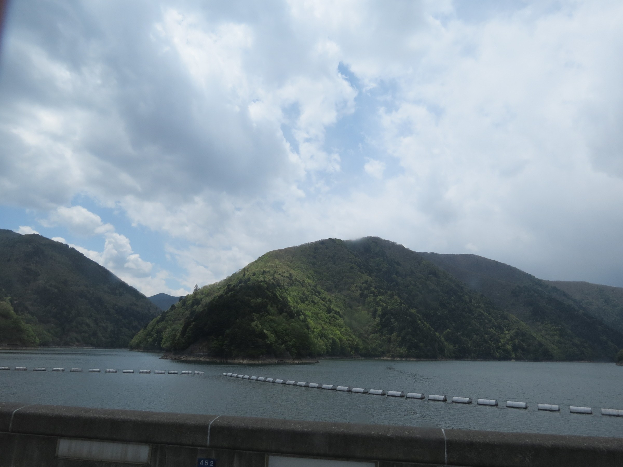 The view when travelling by bus from Matsumoto to Takayama
