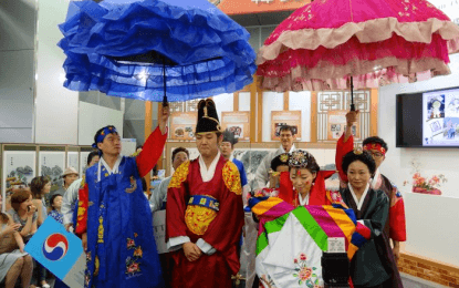 A scene from 2013's Korea-Japan Friendship Day