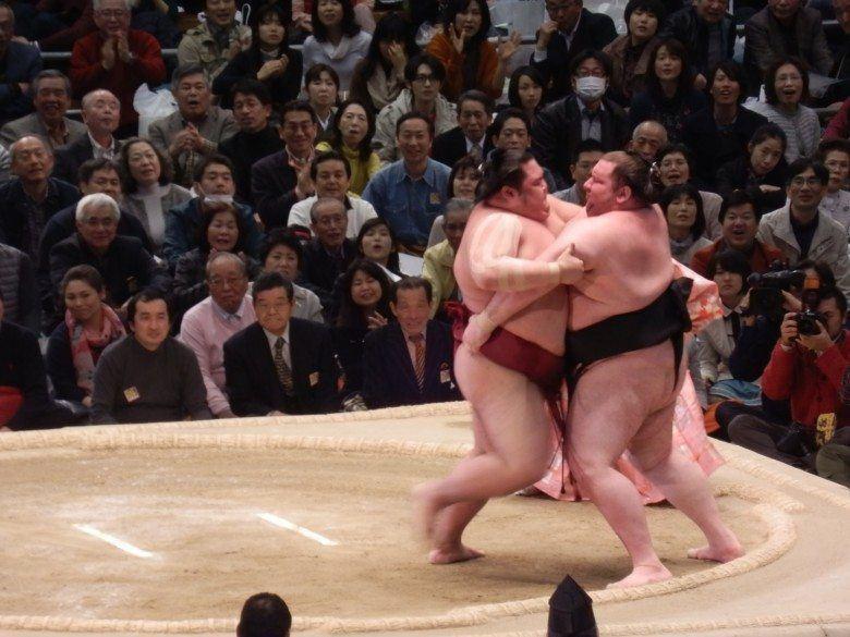 Мужчина и женщина сумо занимаются любовью смотреть онлайн