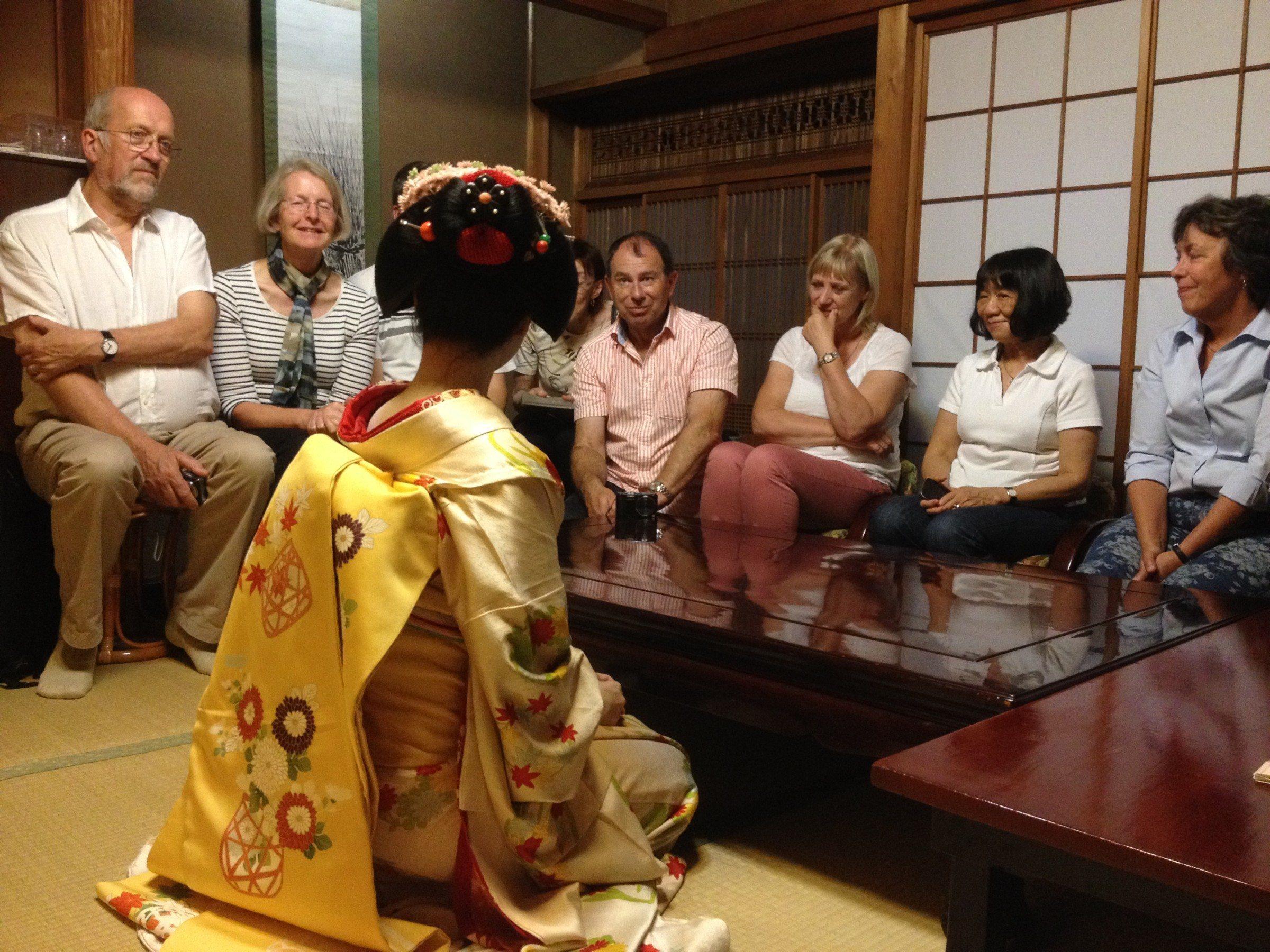 Fun with Geisha