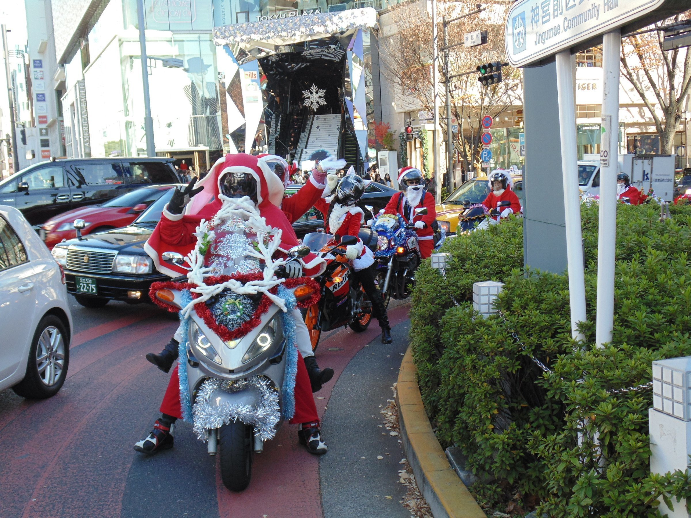 Santa Motorbikes
