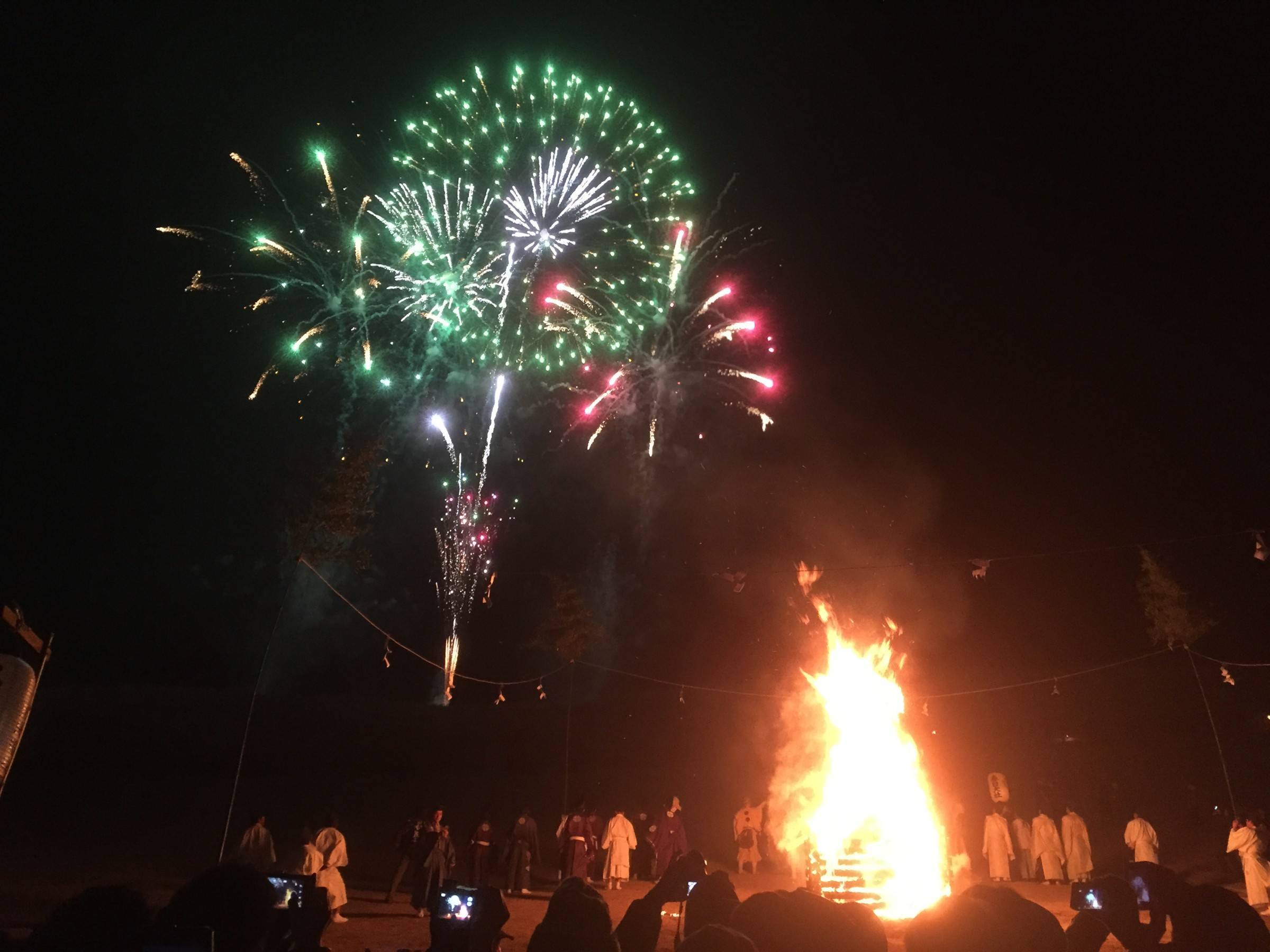 While the bonfire got going, we were treated to a truly spectacular 15 minute firework display... Did I mention entrance is free? Bonus!