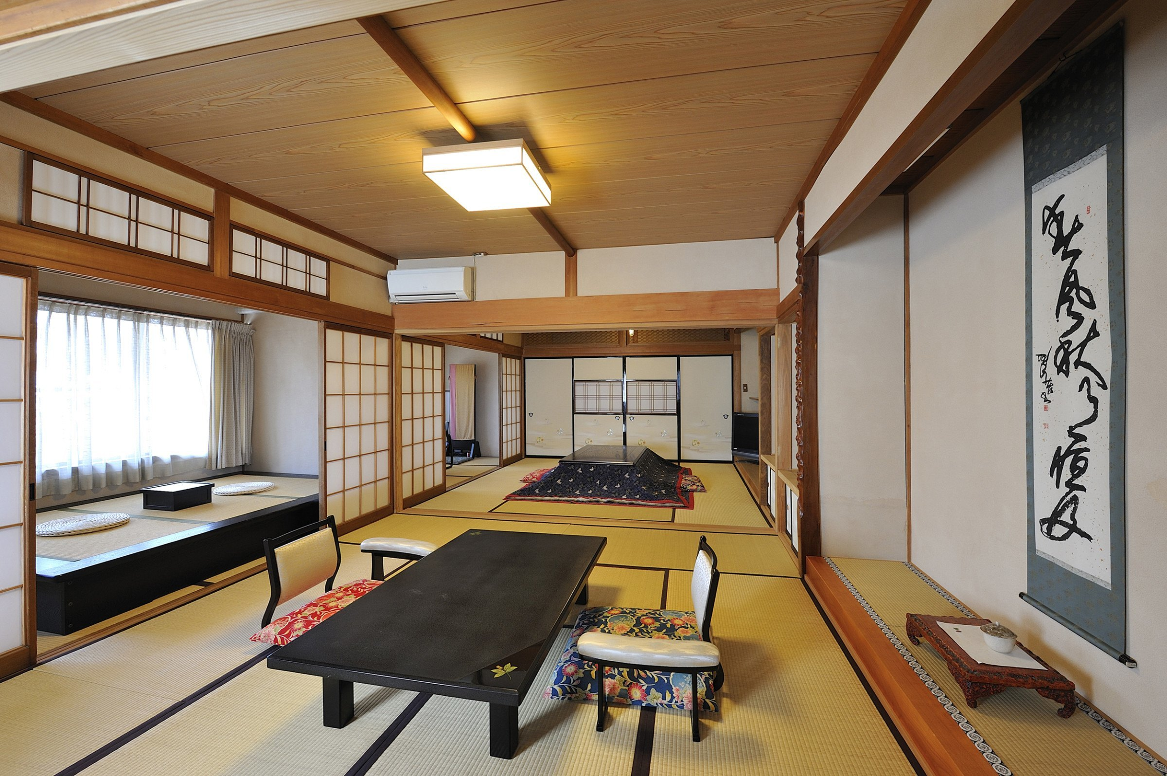Guest suite at the Jinpyokaku