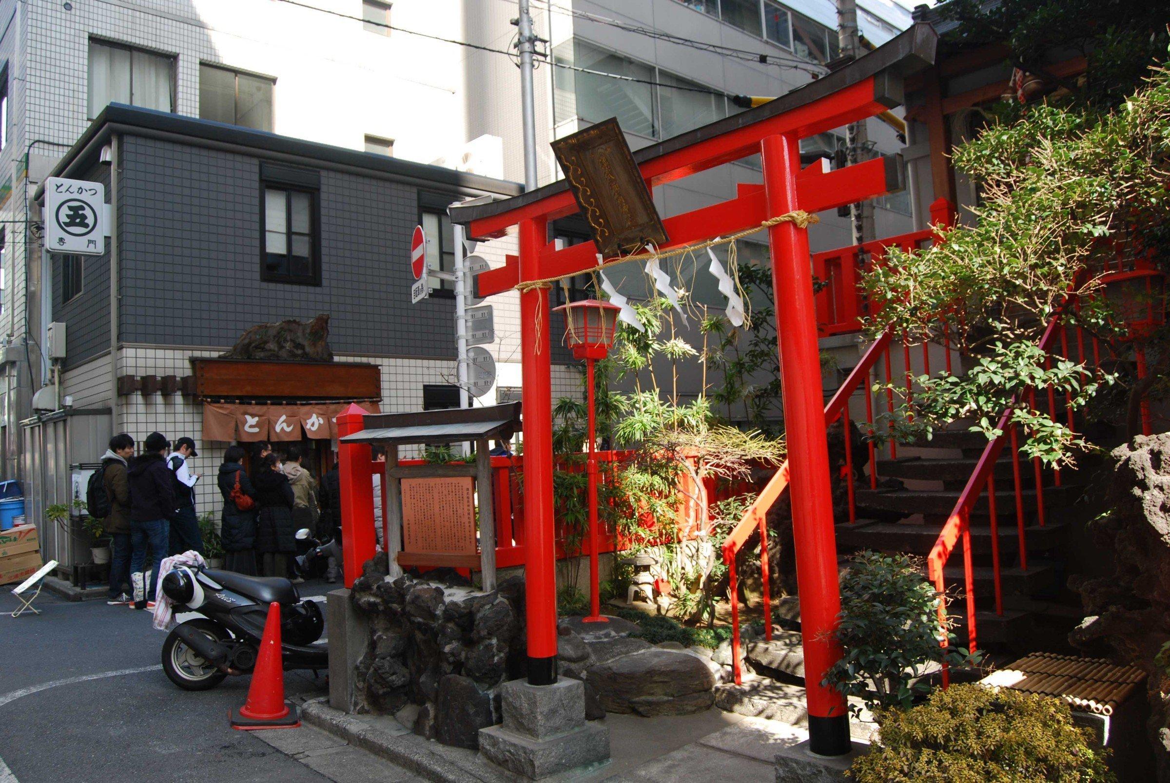 Shrine in Akihabara