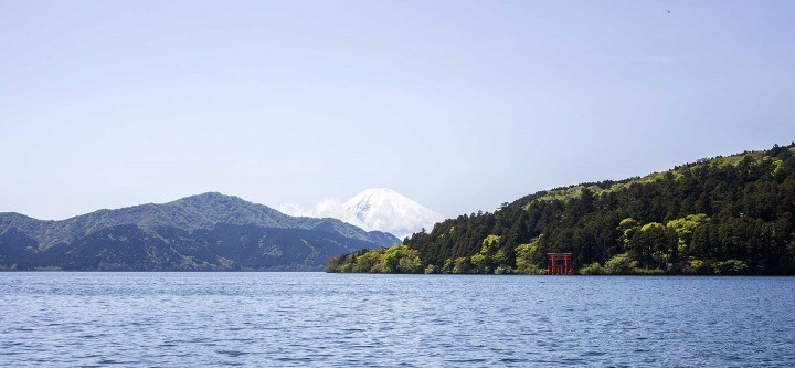 View across Lake Ashi, Hakone