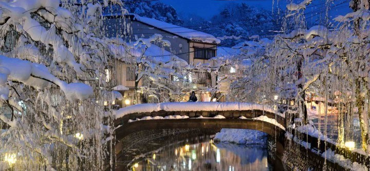 Kinosaki Onsen in the winter (photo: JNTO)