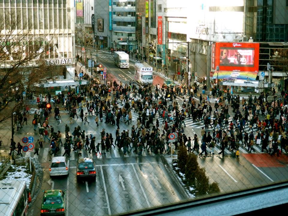 Shinjuku scramble
