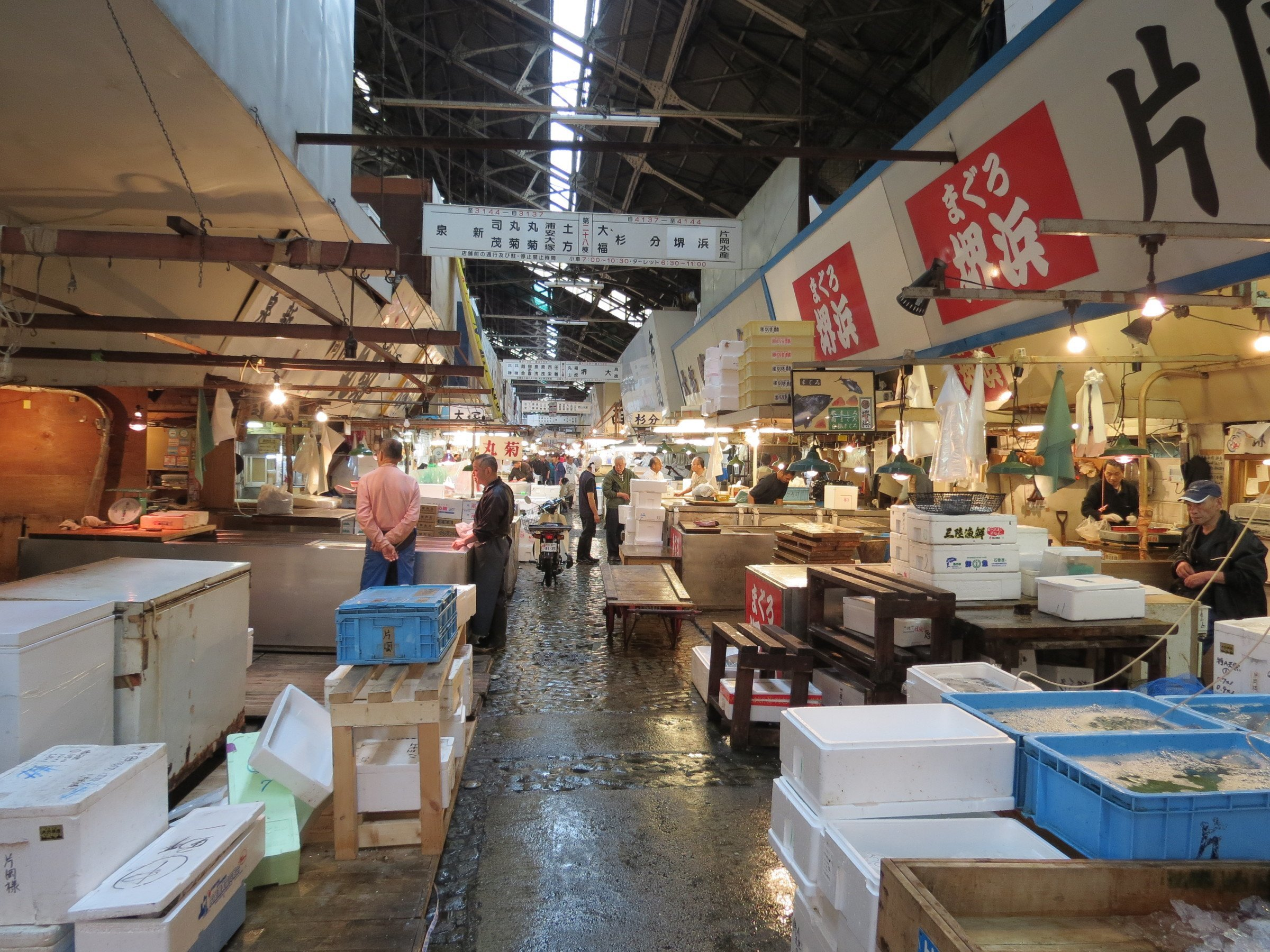 What to do with 48 hours in tokyo insidejapan tours blog for Fish market hours