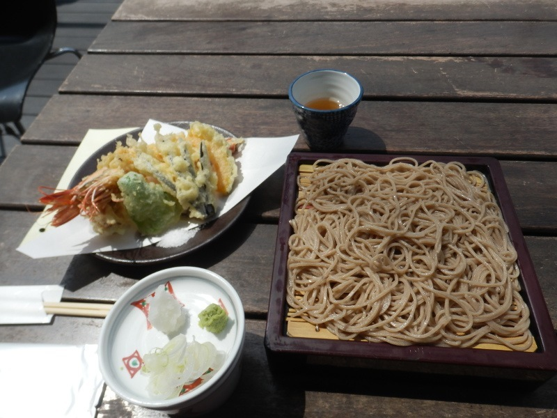 Zaru soba in Karuizawa