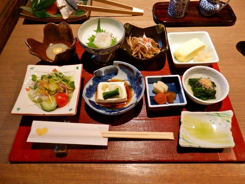 Breakfast at the Ryokan Kurashiki, one of our favourite traditional inns.