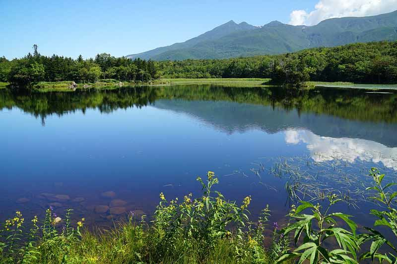 The beautiful landscapes of Shiretoko