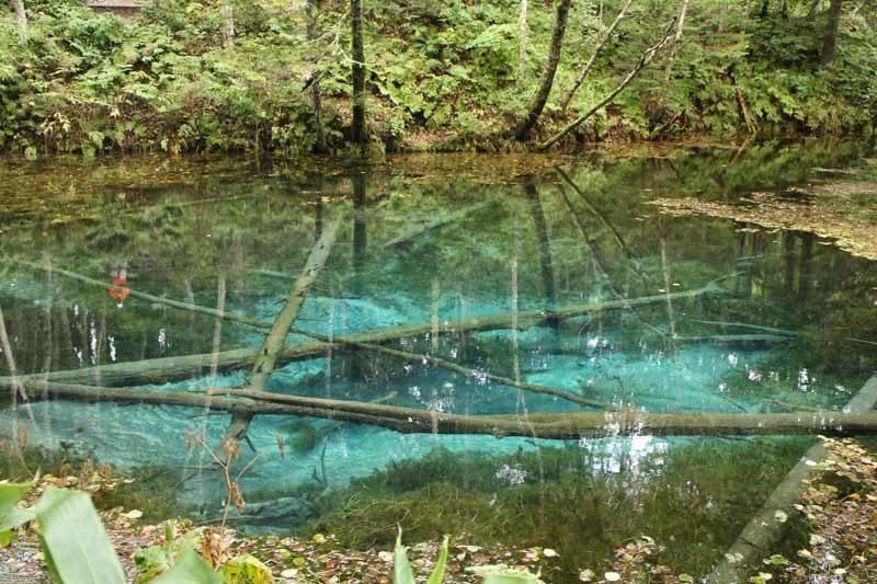 Kaminoko Pond on the Shiretoko Peninsula