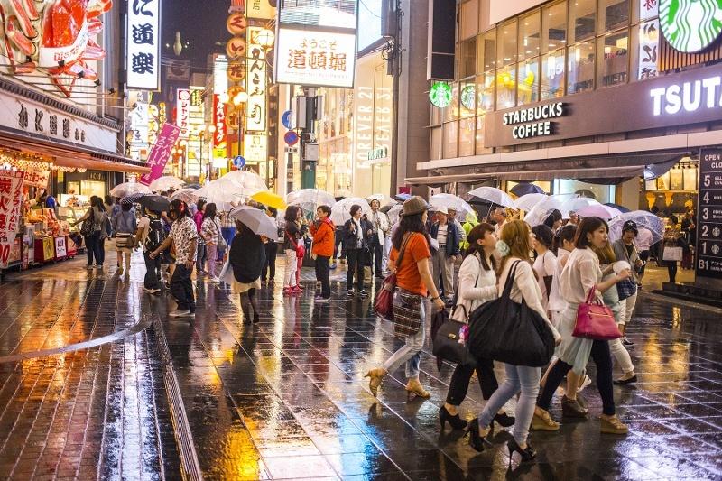 Shopping in Osaka InsideJapan