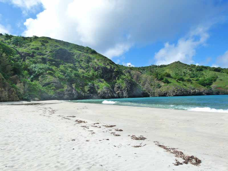 Idyllic beach on the Ogasawara Islands