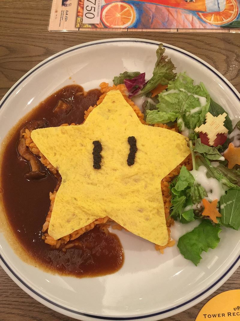 Sadly, I did not become invincible after eating this star.