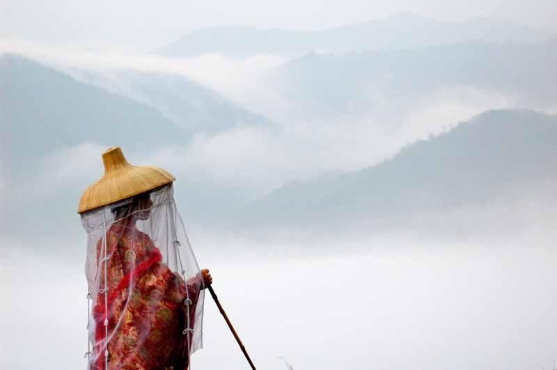 The mountains of the Kumano Kodo