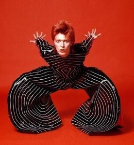 1973 David Bowie. Design by Kansai Yamamoto. Photograph by Masayoshi Sukita