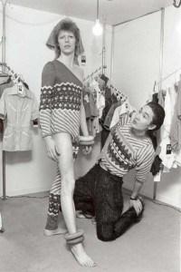 David Bowie & Designer Kansai Yamamoto