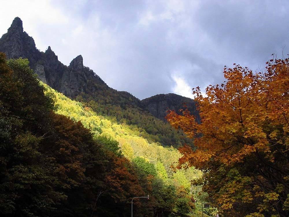 Dramatic scenery in Daisetsuzan National Park