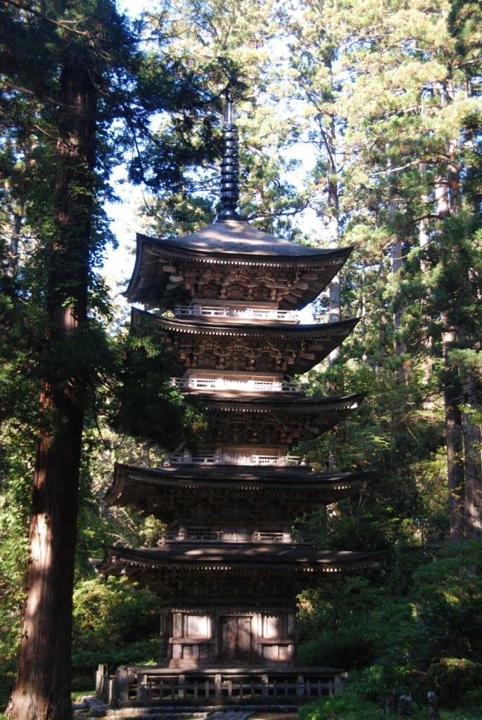 Mount Haguro's pagoda