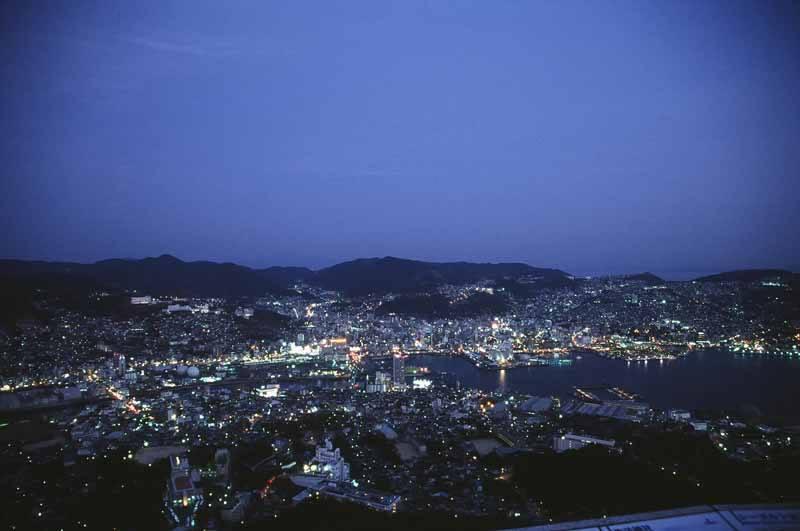 Nagasaki at dusk