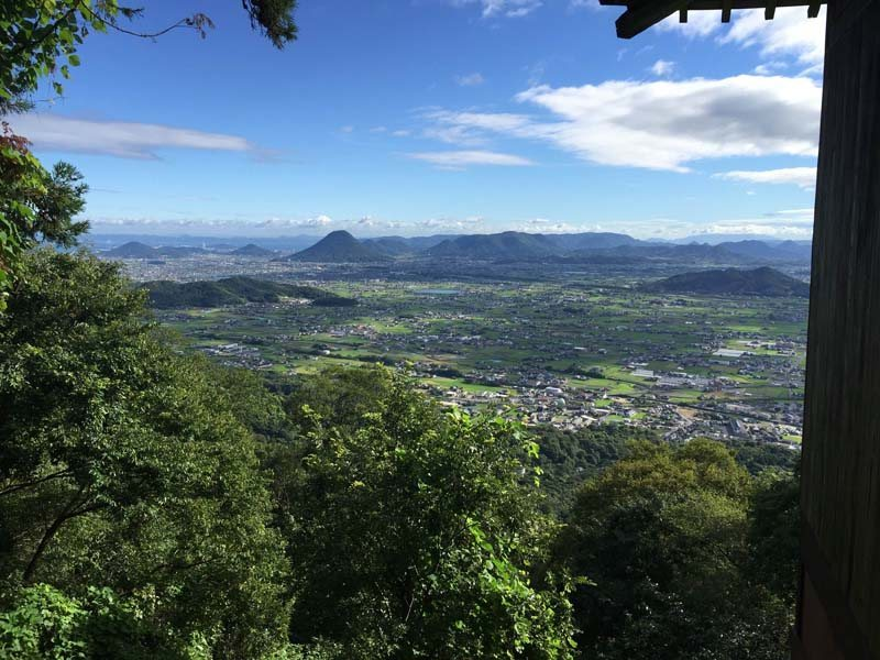 The view from Konpirasan