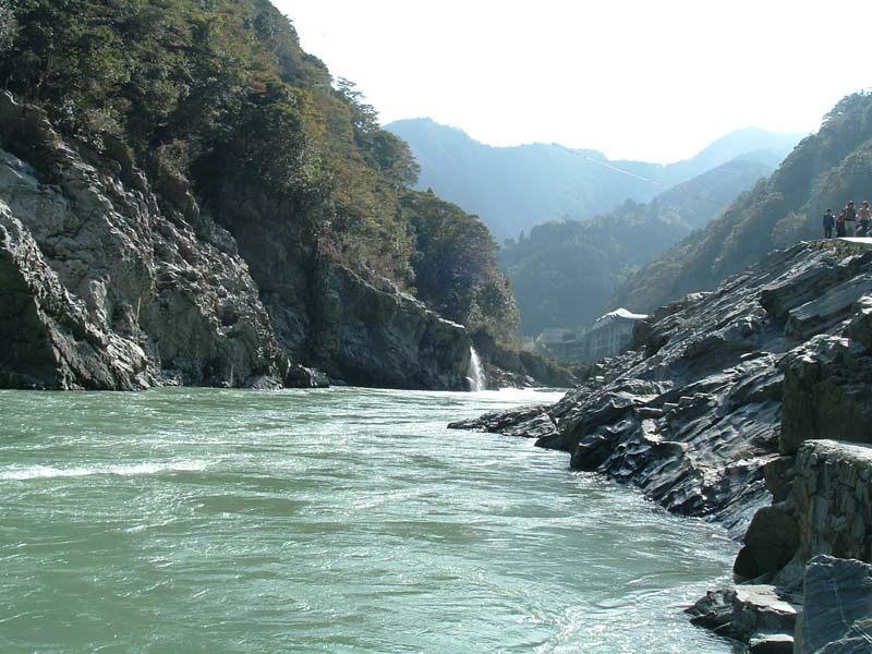 Shikoku river