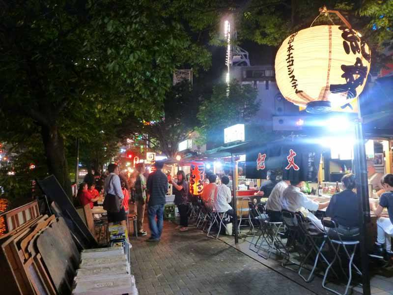 Fukuoka's open-air food stalls