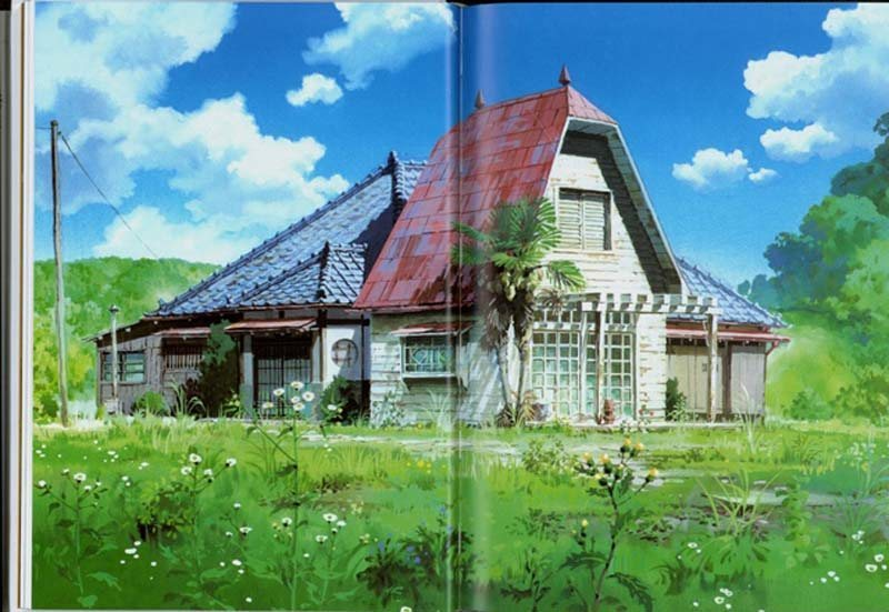 Original artwork from My Neighbour Totoro