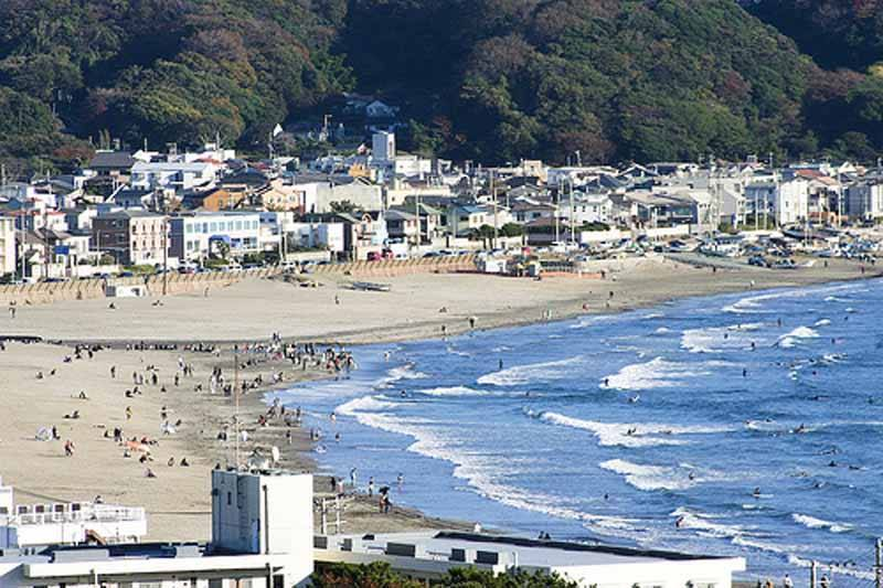 Kamakura Beach (Photo: