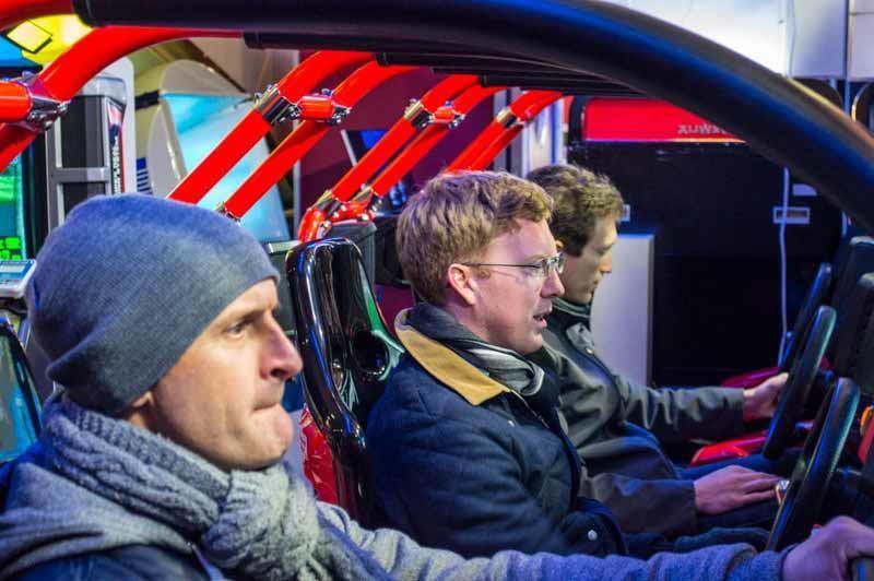 Steve, Mark & David in the zone