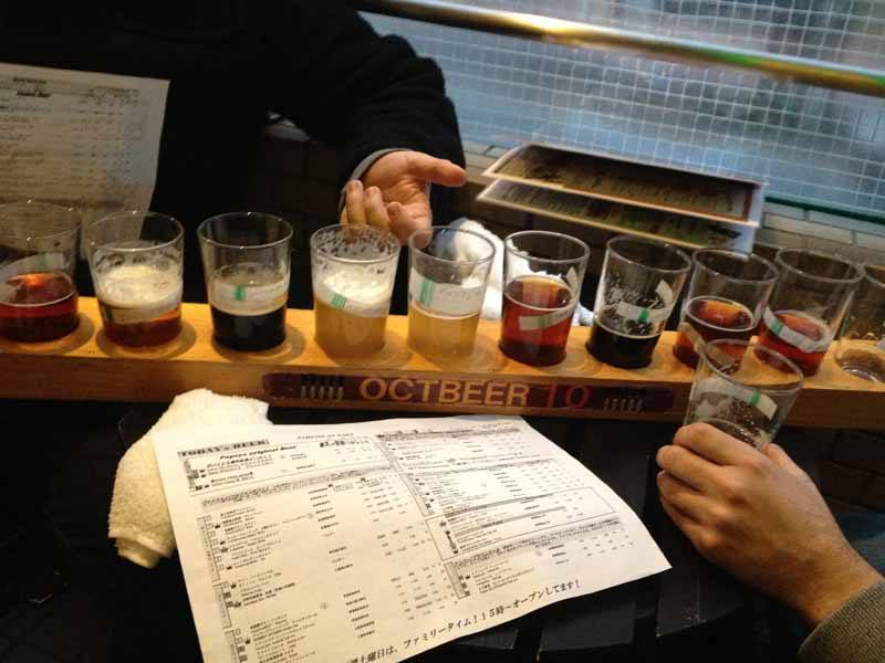 Beer tasting in Popeye