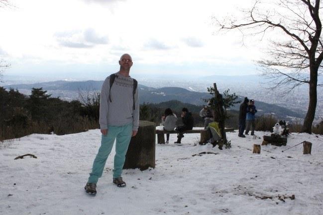 Richard at the summit