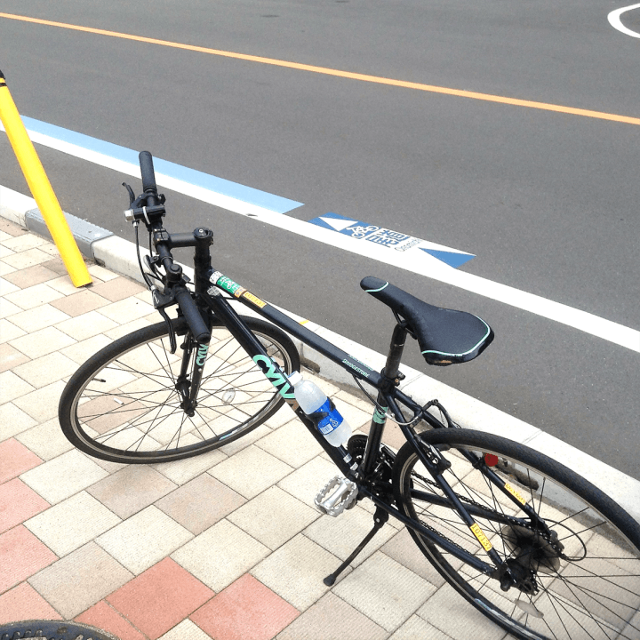 My steed for the Shimanami Kaido