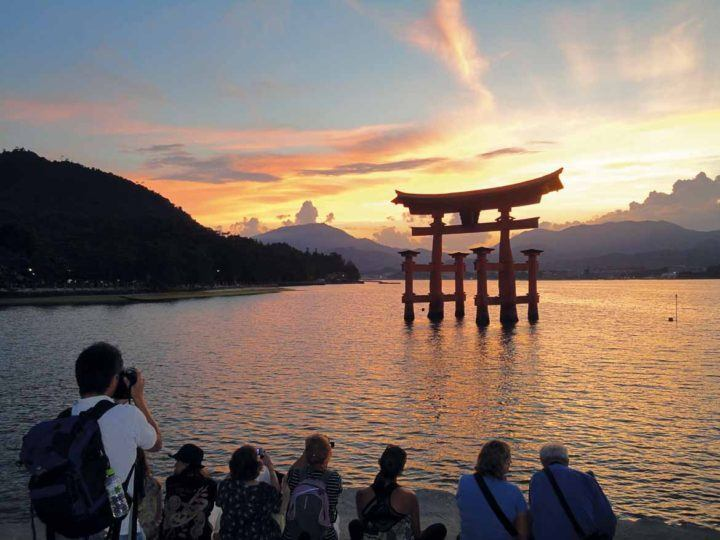 Miyajima is a peaceful place to spend the night