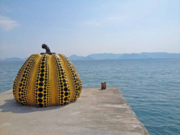 Naoshima is famous for its top-class art collections