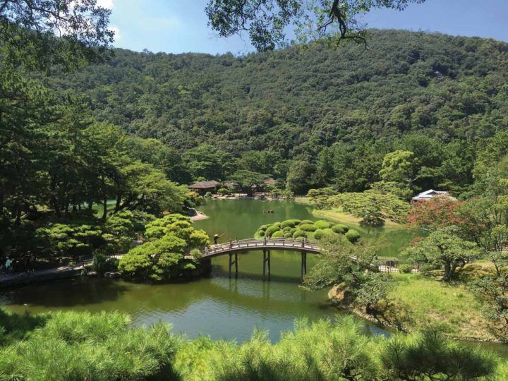 Risturin Garden: one of the best in Japan