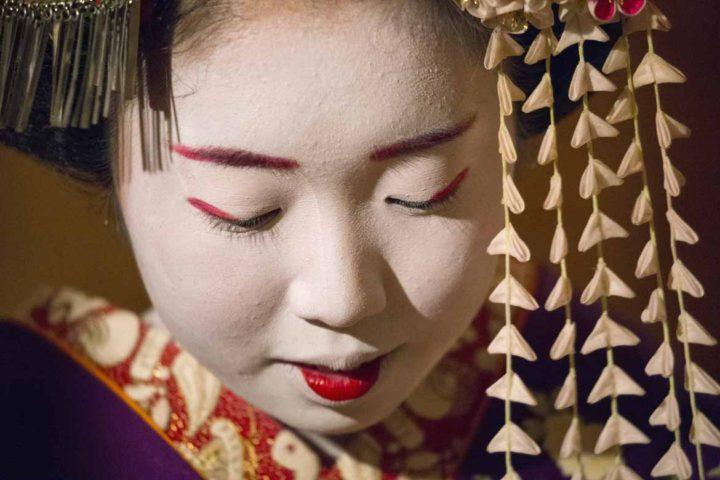 Meeting a maiko is a once-in-a-lifetime experience