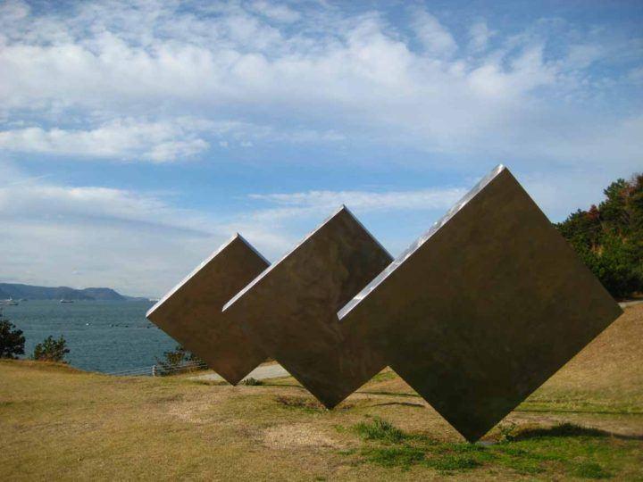 Three Vertical Squares Diagonal