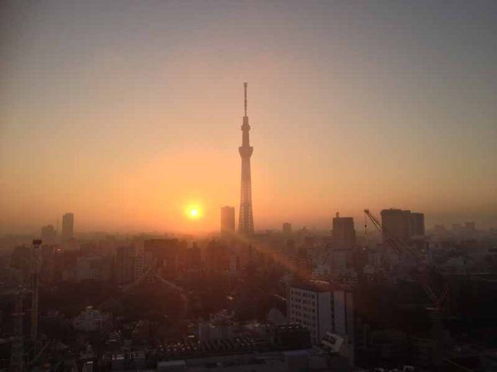 Tokyo sunset, Japan
